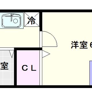 【シティライフエステート難波南】7号タイプ!1Kタイプ!4万円台...