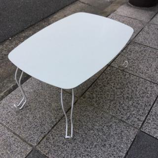 折り畳みテーブル ホワイト
