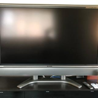 65型テレビ アクオス 高級デッキ付き