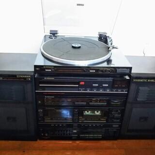 ジャンク PIONEERコンポ(レコード・CD・ラジオ・カセット...