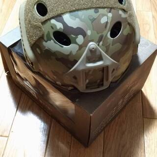 サバゲー ヘルメット シールド付き