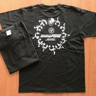 【未使用】ノベルティTシャツ/男女兼用/L/黒/2017サ…