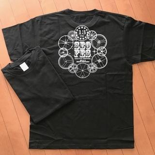 【未使用】ノベルティTシャツ/男女兼用/S/黒/2018サ…