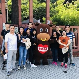外国人観光客おもてなしボランティア募集!神戸牛のご当地キャラと一...