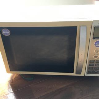東芝電子レンジ ERBiBi04(WS)オーブン機能不可