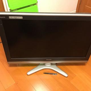 シャープ製42型テレビ(デジタルハイビジョン)