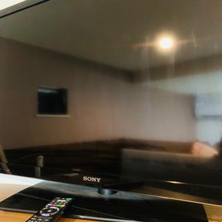 SONY 40インチ液晶テレビとBlu-rayレコーダー