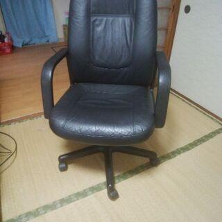 革製椅子 B