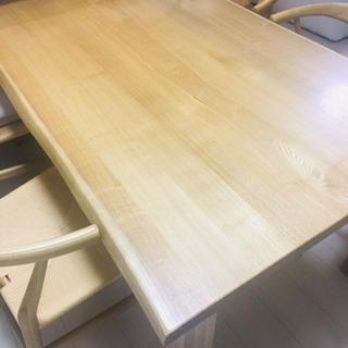 無印のダイニングテーブルセット