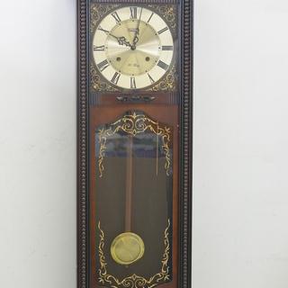 古いゼンマイ式柱時計 CITIZEN シチズン 掛け時計 ボンボ...
