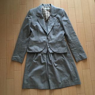 P.S.F.A スーツ スカート グレー 9号