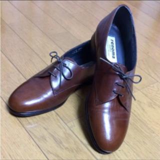 レノマ高級革靴  25.5cm