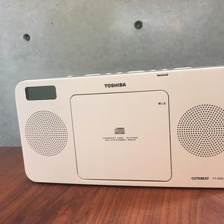 【美品】 TOSHIBA CDラジオ