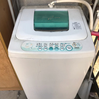 0円洗濯機※ちゃんと説明読んでくださいの画像