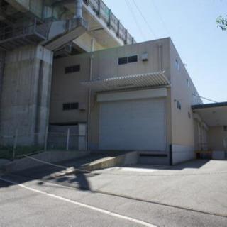 敷地面積400坪以上、大型倉庫事務所♫駐車場10台程度可能♫荷物...