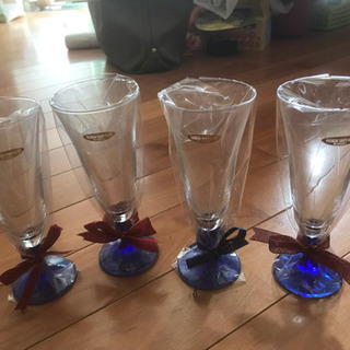 シャンパングラス 4個セット 新品未使用