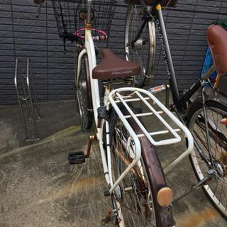 自転車 六段変速 自動点灯ライト