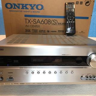 onkyo AVアンプ TX-SA608 動作品 スピーカー有可