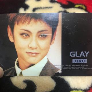 GLAYのJIROのカード - 薩摩川内市
