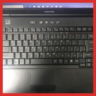 東芝 A4 ノートPC Win10 Celeron 4GB 320GB
