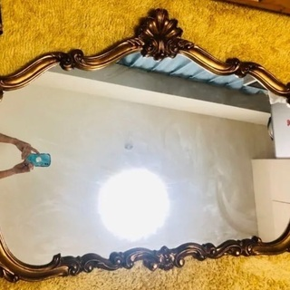 特大 壁掛け鏡 イタリア製