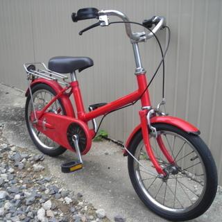 ●昭和レトロな丸石サイクル 16インチ 幼児車 練習用に●
