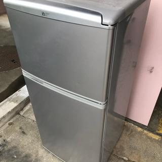 【無料】SANYO 2ドア冷凍冷蔵庫 112L 2007年