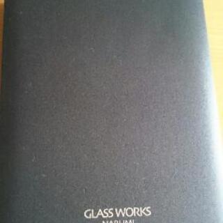 シンプルなガラスのフォトスタンド 新品