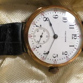 1904年製のウォルサムの腕時計  手巻き
