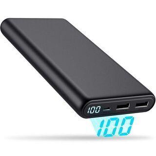 モバイルバッテリー 大容量 24800mAh