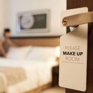 会員制リゾートホテルのベッドメイク