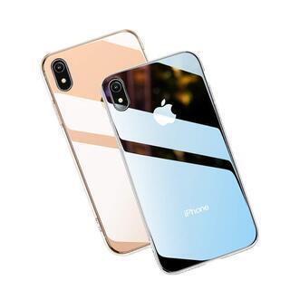 【全国対応・新品未使用】iPhoneXRケース [TPUバンパー...
