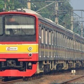 海外鉄道写真 インドネシア 205系ハエ4編成