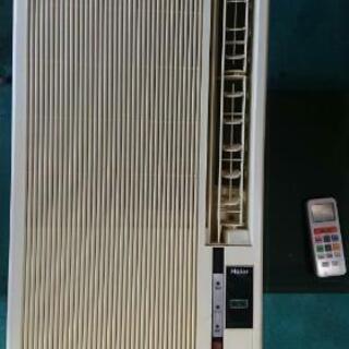 お話し中 窓用エアコン