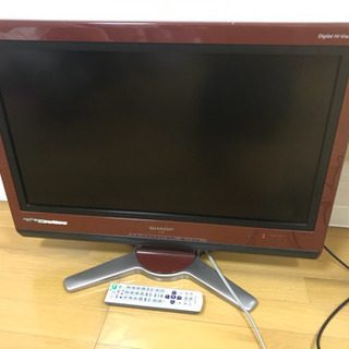 AQUOS 26型 2008年製 液晶テレビ シャープ SHARP
