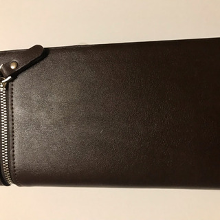 【新品未使用】長財布 茶色 カード収納12枚可能