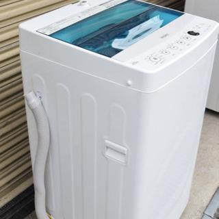 2018年製🔰配送無料‼️Haier 全自動電気洗濯機4.5kg