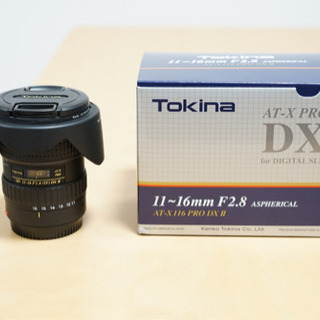 【超広角ズーム】tokina 11 16 F2.8 DXⅡ キャ...