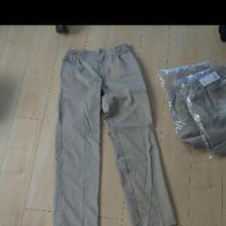作業着ズボン 新品未使用二本と中古一本