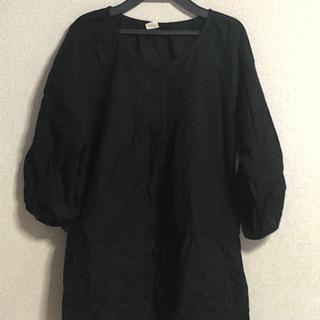 決まりました‼️ チュニック七分袖 黒