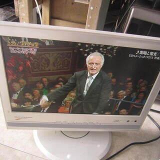 日立14型テレビ リモコンなし