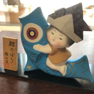 丸英陶器の五月人形 鯉のぼり 萬古焼き こどもの日 子供の日