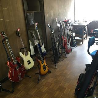 エレキギター、ベースのメンテナンス承ります!