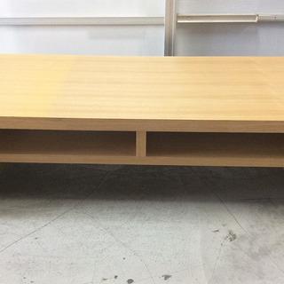 天然木  スクウェア 120㎝ センターテーブル  ローテーブル...