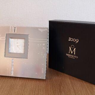 【未使用品】ミキモトインターナショナル 置き時計