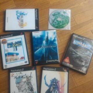 PS2ソフト7本まとめて