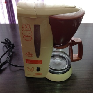 メリタコーヒーメーカーJCM-511(フジパン ミッフィ55周年...