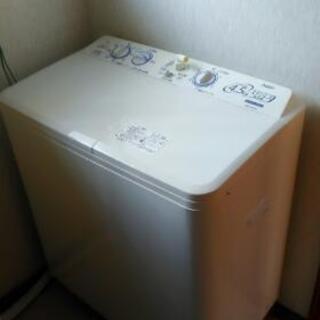 広島市配送設置無料■AQUA アクア◇2槽式洗濯機 4.5…