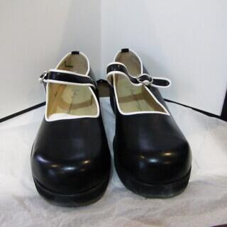 22㎝黒 女児の靴日本製美品