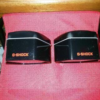 Gショックの缶ケース新品2個セット黒 2個